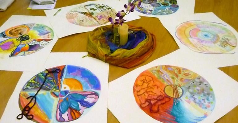 Mandalas created by EAFI Student